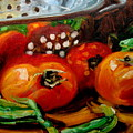 Tomatoes And Onions by Brian Simons