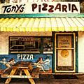 Tony's Pizzaria by Ron Regalado