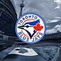 Toronto Blue Jays Mlb Baseball by Nicholas Legault