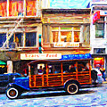 Touring The Streets Of San Francisco by Wingsdomain Art and Photography