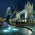 Tower Bridge In London by Vulture Labs