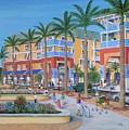 Town Center Abacoa Jupiter by Marilyn Dunlap