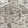 Town Map Of Alexandria In Egypt by Unknown