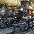 Train - Engine - Steam Locomotives by Mike Savad