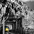 Train At Harpers Ferry by Williams-Cairns Photography LLC