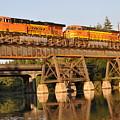 Train Over Water by Matthew Adair