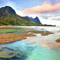Tranquil Dawn Hawaii by Monica and Michael Sweet
