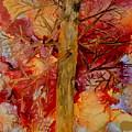 Tree At Sunset by Brenda Alcorn