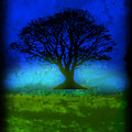 Tree Of Life - Blue Skies by Robert R Splashy Art