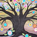 Tree Of Life And Bird by Karla Gerard