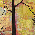Tree Print Triptych Section 2 by Blenda Studio