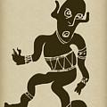 Tribal Dancer by Russell Pierce