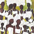 Tribal Girls by Kathy-Lou