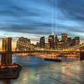 Tribute In Light I by Clarence Holmes
