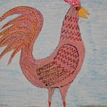 Tribute To A Mean Rooster by Gregory Davis