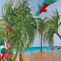 Tropical Mural by Anne Cameron Cutri