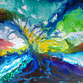 Tropical Wave by Sally Trace