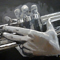 Trumpet Hands by Richard Le Page