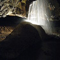 Tuckaleechee Cavern Waterfall by Brittany Horton