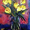 Tulips by Margaret  Plumb