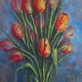 Tulips by Mirjana Gotovac