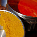 Tumeric And Cayanne Pepper by Heather S Huston