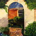 Tuscan Arch  by Denise Lockhart Bush