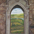 Tuscan View by Diann Baggett