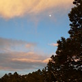 Twilight Moon Over The Hills by Julie Buell
