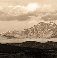 Twin Peaks Sepia Panorama by James BO  Insogna