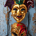Two Decortive Masks by Garry Gay