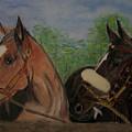 Two Horses by Georgie McNeese