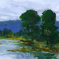 Two Trees In The Bay Land by Barbara Moore