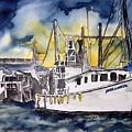 Tybee Island Georgia Boat by Derek Mccrea