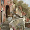 Un Caffe Al Fresco Sulla Salita by Guido Borelli