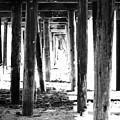 Under The Pier by Linda Woods