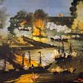 Union Bombardment, 1862 by Granger