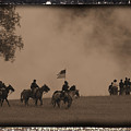 Union Cavalry Charge by Tommy Anderson