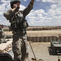 U.s. Air Force Member Calls For Air by Stocktrek Images