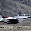 U.s. Air Force Thunderbird F-16 by Stocktrek Images