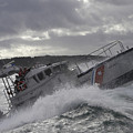 U.s. Coast Guard Motor Life Boat Brakes by Stocktrek Images