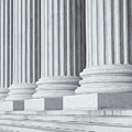 Us Supreme Court Building Iv by Clarence Holmes