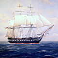 Uss Constitution by William H RaVell III
