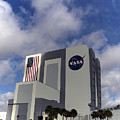 Vab At Kennedy Space Center by Allan  Hughes