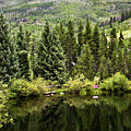 Vail Reflections In The Summer by Madeline Ellis