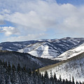Vail Valley From Ski Slopes by Brendan Reals
