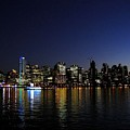 Vancouver Night Lights by Will Borden
