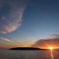 Variations Of Sunsets At Gulf Of Bothnia 2 by Jouko Lehto