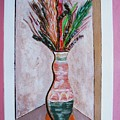Vase In Cubby Hole by Arvin Nealy
