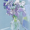 Vase Of Flowers In The Sun by Jill Baker